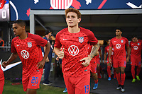 WASHINGTON D.C. - OCTOBER 11: Josh Sargent #19 of the United States during warm up prior to their Nations League game versus Cuba at Audi Field, on October 11, 2019 in Washington D.C.