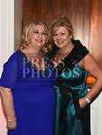 Aoife Dawe and Julie Plunkett at the Coca Cola Christmas party in the Westcourt hotel.  Photo:Colin Bell/pressphotos.ie