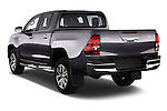Car pictures of rear three quarter view of 2017 Toyota Hilux Lounge-Double 4 Door Pickup Angular Rear