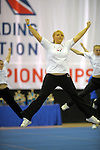 National School Cheerleading Championships 2008. Manchester Velodrome.<br /> Photos by Alan Edwards<br /> www.f2images.co.uk<br /> Photos by Alan Edwards<br /> www.f2images.co.uk