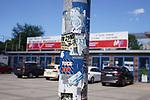 Das Carl-Benz-Stadion vor Spielbeginn beim Spiel in der 3. Liga, SV Waldhof Mannheim - KFC Uerdingen 05.<br /> <br /> Foto © PIX-Sportfotos *** Foto ist honorarpflichtig! *** Auf Anfrage in hoeherer Qualitaet/Aufloesung. Belegexemplar erbeten. Veroeffentlichung ausschliesslich fuer journalistisch-publizistische Zwecke. For editorial use only. DFL regulations prohibit any use of photographs as image sequences and/or quasi-video.