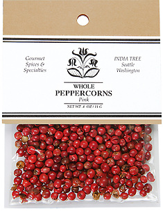 10123 Pink Peppercorns, Caravan 0.4 oz, India Tree Storefront