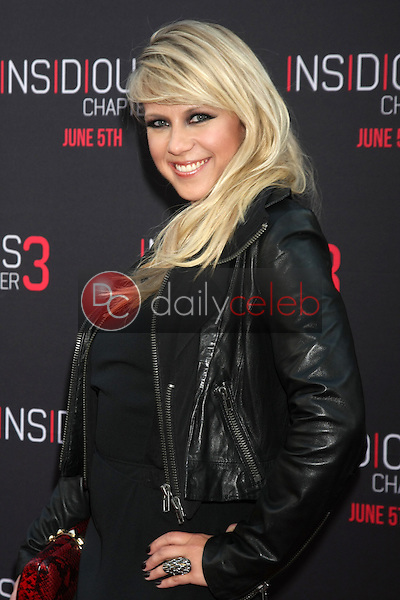Jodie Sweetin at the &quot;Insidious Chapter 3&quot; Premiere, TCL Chinese Theater, Hollywood, CA 06-04-15<br /> David Edwards/DailyCeleb.com 818-249-4998