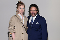 "NEW YORK CITY - APRIL 20: (L-R) Actor Clemence Poesy and Kenneth Biller, Producer, Director and Writer, attend a Sotheby's lunch and private preview of works by Picasso in conjunction with the National Geographic show ""Genius: Picasso"" at Sotheby's on April 20, 2018 in New York City. (Photo by Anthony Behar/ National Geographic/PictureGroup)"