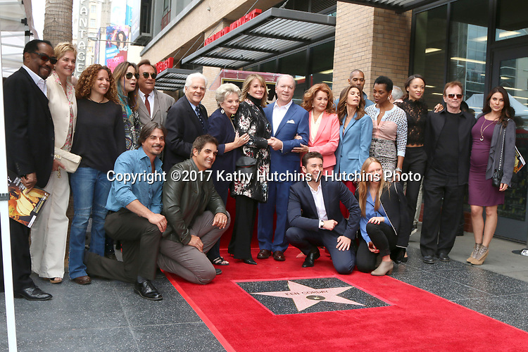 LOS ANGELES - MAY 15:  Days of Our Lives Cast Members, Ken Corday at the Ken Corday Star Ceremony on the Hollywood Walk of Fame on May 15, 2017 in Los Angeles, CA