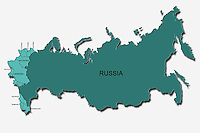 Russia e i paesi Ex Unione Sovietica.  Russian and Former Soviet Union countries. .