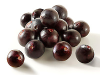 Stock photos of the acai berry the super fruit anti oxident from the Amazon. The acai berry has been associated with helping weight loss.