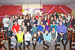 Geraldine Brosnan, Farranfore seated center who celebrated her 40th birthday with her family and friends in Faha Court bar on Saturday night ..