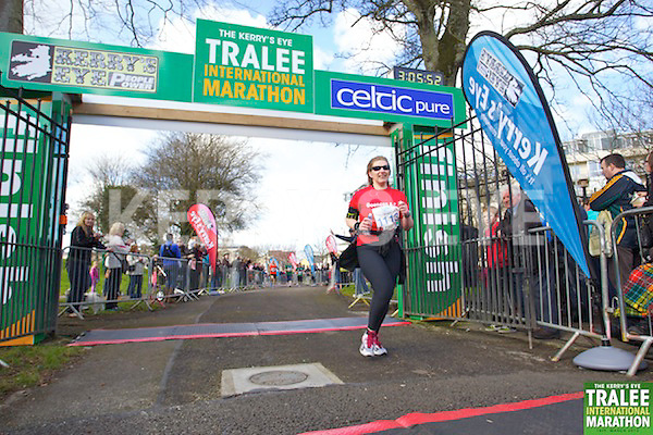 1113 Moira Cranley who took part in the Kerry's Eye, Tralee International Marathon on Saturday March 16th 2013.