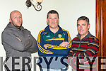 The Kerry Ladies committee appointed their new managent team in the Killarney Heights Hotel on Thursday night front row l-r: Niall Strength and Conditioning coach, Alan O'Neill Manager and Harry O'Neill Coach and selector