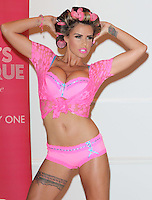 London - Katie Price (with her fiance Leandro Penna) launch her new range of summer lingerie for Katie's Boutique available exclusively at Store Twenty One, at The Worx Studio, Fulham, London - May 29th 2012..Photo by Keith Mayhew.