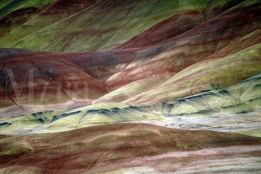 Painted Hills. Oregon USA John Day Fossil Beds National Monument.