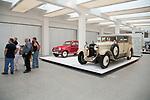 27.08.2013, Czech Republic, Middle Bohemia, Jungbunzlau - Skoda Hispano Suiza (1928) und links ein Skoda Felicia (1960er-Jahre) im Skoda Museum (Skoda Muzeum) gleich neben dem Stammwerk von Skoda. Skoda gehoert seid einigen Jahren zum Volswagenkonzern. Die Geschichte der wichtigsten tschechischem Marke reicht viel weiter zurueck - die Unternehmensgruendung war 1894 zunaechst als Hersteller von Fahrraedern und Mororraedern. 00A130827D379CAROE.JPG GT [MODEL RELEASE: NO ,PROPERTY RELEASE: NO (c) caro photo agency / Andreas Bastian, http://www.caro-images.com, info@carofoto.pl - In case of using the picture for non-journalistic purposes, please contact the agency - the picture is subject to royalty!]