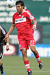 13 June 2009: Chicago's Wilman Conde. DC United defeated the Chicago Fire 2-1 at RFK Stadium in Washington, DC in a regular season Major League Soccer game.