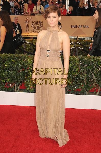 30 January 2016 - Los Angeles, California - Kate Mara. 22nd Annual Screen Actors Guild Awards held at The Shrine Auditorium.      <br /> CAP/ADM/BP<br /> &copy;BP/ADM/Capital Pictures