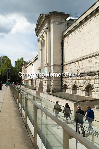 Tate Britain 2013 The Main Entrance.