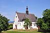 St. Laurenzikirche, barocke Wallfahrtskirche auf dem Laurenziberg, erbaut 1707 bis 1717 auf den Grundmauern einer iro-schottischen Zentralkirche aus dem späten 6. oder frühen 7. Jahrhundert