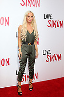 "LOS ANGELES - MAR 13:  Gigi Gorgeous, Giselle Loren Lazzarato at the ""Love, Simon"" Special Screening at Westfield Century City Mall Atrium on March 13, 2018 in Century City, CA"