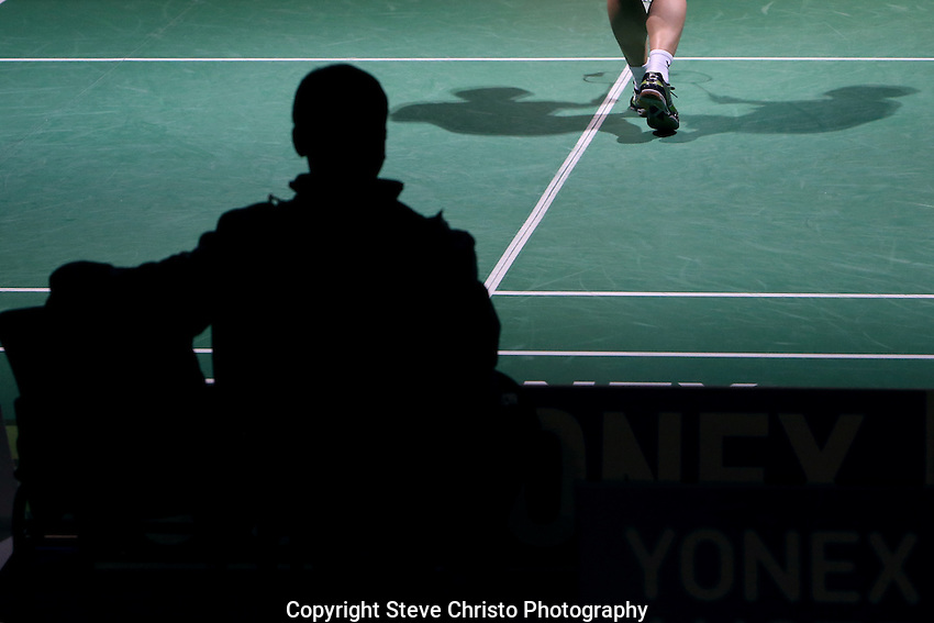 Yonex Australian Badminton Open 2013. Sydney, Australia. Wednesday, April 3rd 2013. Photo: (Steve Christo).