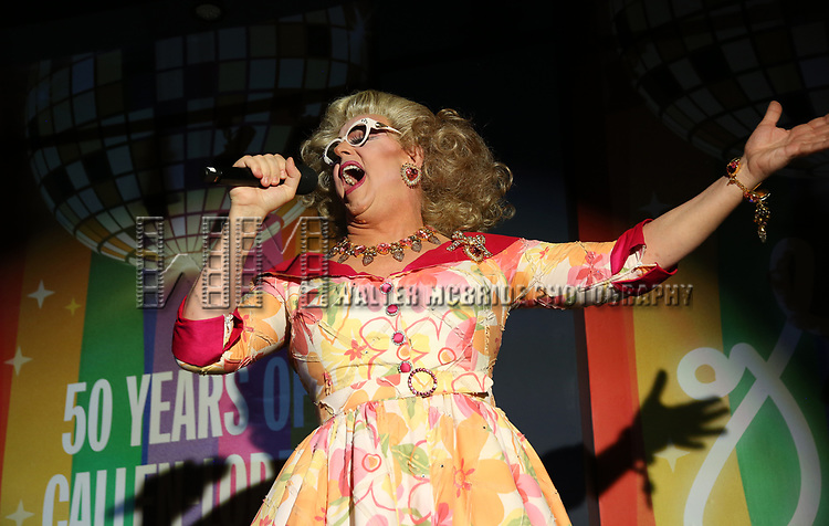 Doris Dear during the GLOW: 50 Years of Callen-Lorde at Union Park on May 31, 2019  in New York City.