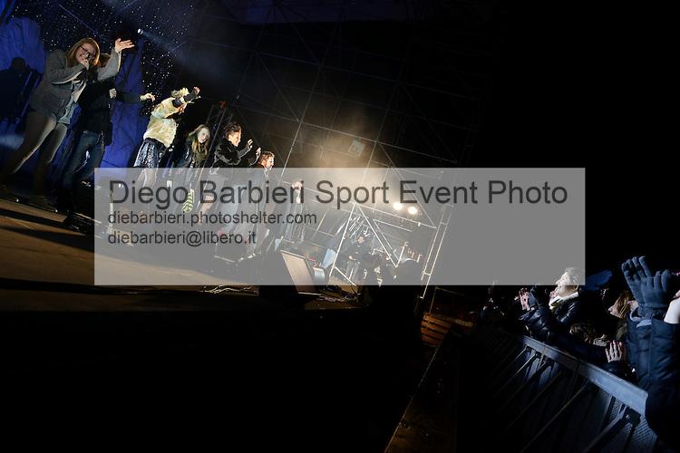 (KIKA) - TORINO - 04/01/2013 Concerto dei ragazzi di X-Factor 2012 sesta edizione, a Gru Village di Grugliasco, Torino.