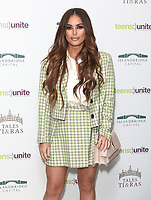 Courtney Green at the Teens Unite: Tales and Tiaras Gala at The Dorchester, Park Lane, London, England on 30th November 2018<br /> CAP/ROS<br /> &copy;ROS/Capital Pictures