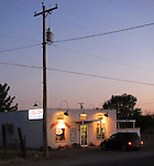 Liquor store in Marfa, Texas
