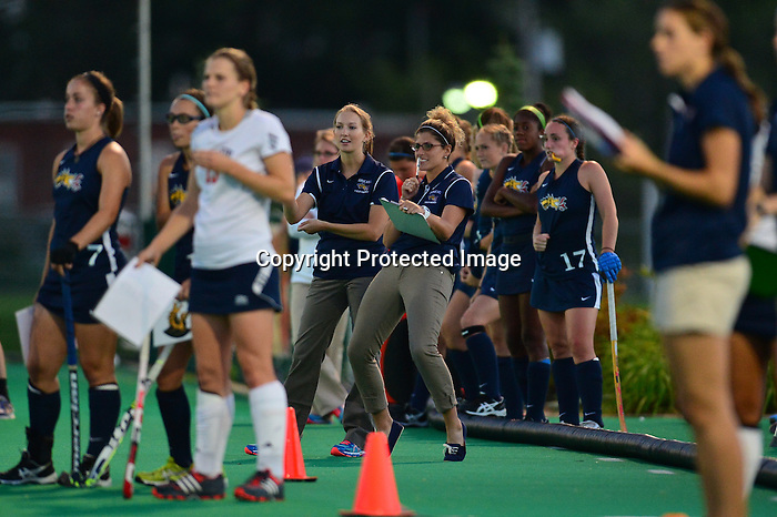 PHILADELPHIA &ndash; The Drexel field hockey team defeated Bucknell, 2-0, under the lights at Buckley Field. Senior co-captain Elise DiDonato and junior Margaux Lourtie both scored in the second half as the Dragons remain undefeated at home. Drexel improves to 3-2 overall and 2-0 at home, while the Bison dropped to 2-3 on the season. <br /> <br /> After 35 minutes of competitive play, the Dragons and the Bison were unable to break a 0-0 tie despite multiple scoring opportunities on both ends of the field. Drexel finished the first half with an 8-5 advantage in shots and drew five offensive penalty corners to Bucknell's one.<br /> <br /> In the 54th minute of the contest, sophomore Jenna Knouse took a hard shot from outside of the circle. Teammate Elise DiDonato deflected the incoming ball past Bucknell's Erica Perrine to give Drexel the first point of the game. The Dragons extended the game to two-goals 10 minutes later.<br /> <br /> With 5:03 showing on the clock, junior Christina Conrad followed her shot attempt and jabbed the loose ball past Perrine, who was gearing up for another save. Junior Margaux Lourtie stationed herself behind the keeper, and directed the incoming ball from Conrad into the back of the cage. Drexel held onto the lead for the remainder of the second half.<br /> <br /> Junior goalkeeper Jantien Gunter made four key stops against the Bison and earned her eighth career shutout. She now has 33 saves on the season. Bucnkell's Erica Perrine tallied six saves. Knouse also earned her first career assist.<br /> <br /> The Dragons will play two games in Kent, Ohio next week. Drexel will face Kent State on Thursday, September 19 at 1:00 p.m. followed by Iowa at 12:00 p.m. on Saturday, September 21.