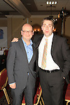 (Shane Personal Event).Ged Nash, who would later appear on the Catwalk, with Barry Carter (of the Westcourt, who gave up their function room for the event)..Picture: Shane Maguire / www.newsfile.ie.