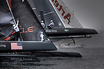 First day of the America's Cup World Series, Cascais Portugal.