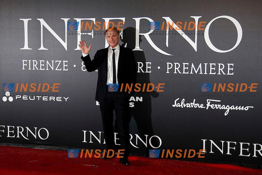 Dan Brown<br /> Firenze 08-10-2016. 'Inferno' Anteprima Mondiale.<br /> Florence 8th October 2016. 'Inferno' World Premiere.<br /> Foto Samantha Zucchi Insidefoto