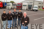 The team behind Dennehys Trucks neil Dennehy,Joe Ryan,Neily and Adrian Dennehy and Stephen Kearney.