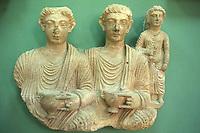SIRIA - sito di Palmira(Tadmor)  Museo Antichità  busti funerari