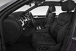 Front seat view of 2017 Volkswagen Touareg Sport 5 Door SUV Front Seat  car photos
