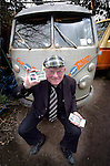 Jackie Healy-Rae out canvassing in South Kerry at the home of William Knightly in Firies, Killarney.<br />