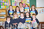 Aughaccassla N.S Camp who tokk out their book for the first time to learn to read on Tuesday on their first day at school. Front l-r: Ro?ise Deane, Katie Smith-Galvin, Cillian Horan, Molly O'Donmoghue and Adam Crean. Back l-r: Norah O'Driscoll, Orlahj Clifford, Christina O'Shea (teacher), Sarah Keane and Carla Qualter..............