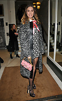Amber Le Bon at the Wellness Awards 2018, BAFTA, Piccadilly, London, England, UK, on Thursday 01 February 2018.<br /> CAP/CAN<br /> &copy;CAN/Capital Pictures