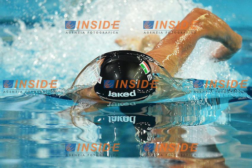 Gianluca Maglia Italia Men's 4x200 freestyle Relay .Istanbul 13/12/2012 Sinan Erdem Dome.World Swimming Championships Short course 25m Nuoto Istanbul.Foto Andrea Staccioli Insidefoto