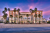 Santa Monica beach, Santa Monica, California, Casa Del Mar, Beachfront Luxury, Hotel, United States of America, North America, Gold Coast, Beach City.