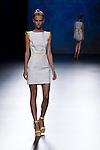 02.09.2012. Models walk the runway in the Sara Coleman fashion show during the Mercedes-Benz Fashion Week Madrid Spring/Summer 2013 at Ifema. (Alterphotos/Marta Gonzalez)