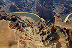 Grand Canyon, Hoover Dam, Columbia River, Lake Mead, Nevada & Arizona, USA aerial views.