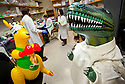 """(l-r) """"Skippy"""" and """"Rex"""" hang out in the David Tobin lab over the winter break.  Image was shot for the DD360 project."""