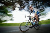 Jack Bobridge (AUS) speeding down<br /> <br /> 2013 Ster ZLM Tour <br /> stage 4: Verviers - La Gileppe (186km)