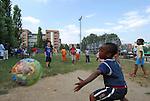 Balon Mundial, torneo per migranti residenti in Piemonte. Balon Mundial, tournament for immigrants living in Piedmont.