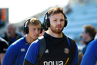 Max Wright and the rest of the Bath Rugby team arrive at Sandy Park. Gallagher Premiership match, between Exeter Chiefs and Bath Rugby on March 24, 2019 at Sandy Park in Exeter, England. Photo by: Patrick Khachfe / Onside Images