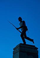 Minnesota Monument, Gettysburg National Military Park, Pennsylvania, USA