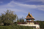 Israel, Shephelah, the Thai Shrine in Ben Shemen forest
