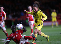 Naby Sarr of Charlton tackles Burton's Marcus Harness during Charlton Athletic vs Burton Albion, Sky Bet EFL League 1 Football at The Valley on 12th March 2019