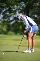 Pernilla Lindberg (SWE) watches her putt on 11 during the round 1 of the KPMG Women's PGA Championship, Hazeltine National, Chaska, Minnesota, USA. 6/20/2019.<br /> Picture: Golffile | Ken Murray<br /> <br /> <br /> All photo usage must carry mandatory copyright credit (© Golffile | Ken Murray)