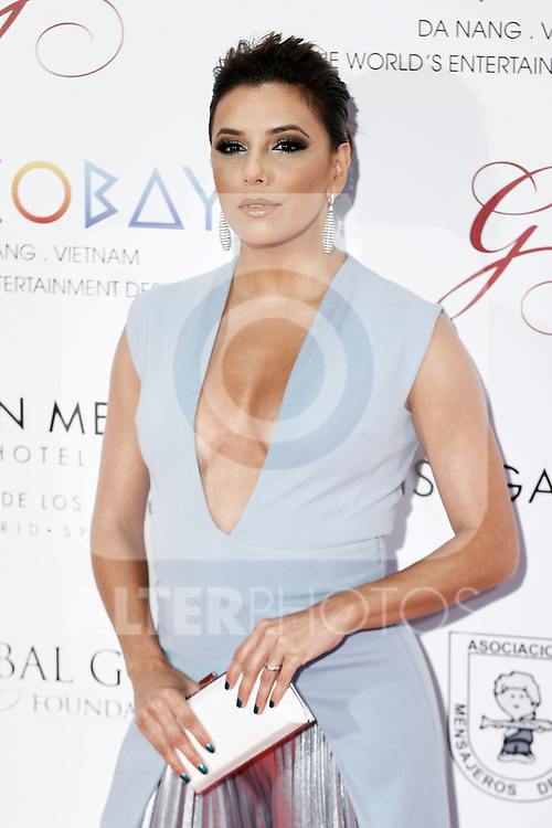 Eva Longoria attends the photocall of the second Global Gift gala at the Royal Theater in Madrid, Spain. April 04, 2017. (ALTERPHOTOS / Rodrigo Jimenez)